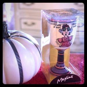 Maxine ceramic wine glass